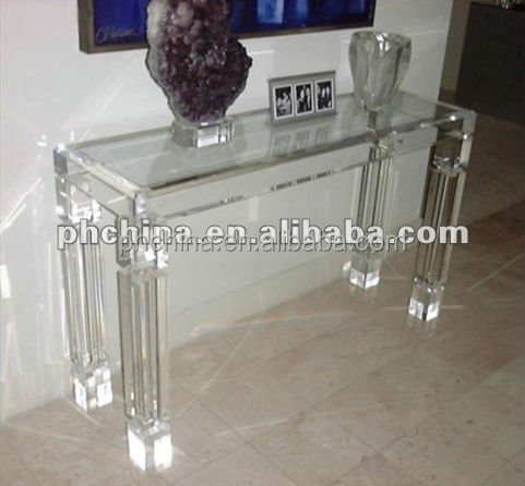 console plexiglass design maison design. Black Bedroom Furniture Sets. Home Design Ideas