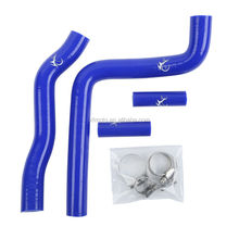 Blue Motorcycle Silicone Radiator Hose For Kawasaki KX250 KX-250 2005-2007