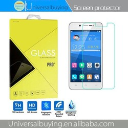 Hot selling mobile phone screen protector with 9H hardness and 0.26mm thickness and anti explosion and waterproof for Vivo Y17