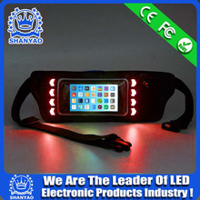 2015 Hot Selling LED Reflective Waist Pack For Running etc Outdoor Sports