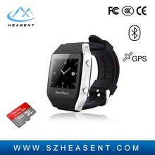 Fashion Dual Sim Card Watch Mobile Phone With Multi Function 1.65 inch Touchscreen