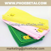 household cleaning series microfiber optical lens cloth with custom size and color made in China