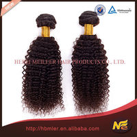 100% unprocessed wholesale remy kinky afro hair weave