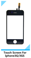 Wholesale High Quality Touch Digitizer Glass Screen Assembly For iPhone3G/3S