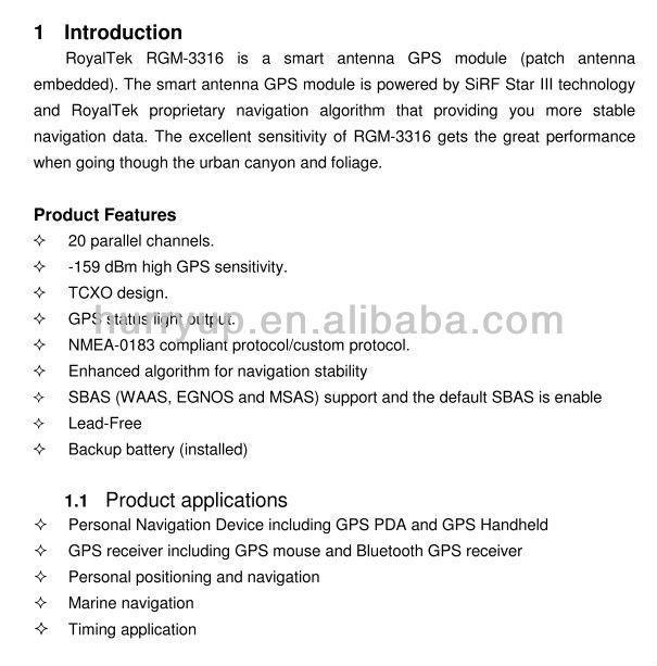 RGM-3316