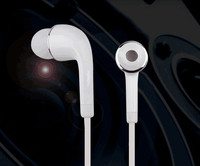 High quality mobile earphone for samsung, in-ear earphone with volume control and mic