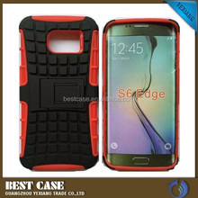 Newest 2 in 1 Detachable Case For Samsung S6 Edge with stand