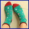 2015 Manufacturer Wholesale Merino Women colorful stripes winter thick 100 wool socks