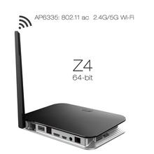 Latest Stylish Dual band wifi 4K tv box 2g/16g RK3368 Octa Core Z4 dvb t2 set top box
