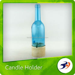 China Supplier Family Glass Candlestick