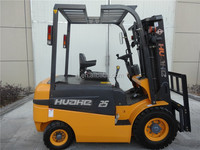 electric lift truck 2.5t forklift with 1070mm fork