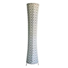 Fashion big dots light design high-grade soft roll floor lamp, large size interior lighting decoration