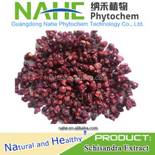 2015 hot sale dried plant extract Schisandra Berry Extract