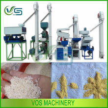 High peeling rate and work efficiency portable rice milling machine for paddy rice