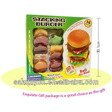 Funny stacking burger game,educational games for kids
