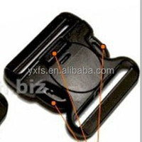 factory price 2015 new 51mm/58mm CK059 safty plastic buckle POM side release insert buckle