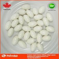 OEM brand china supplier liquid calcium d3 softgel