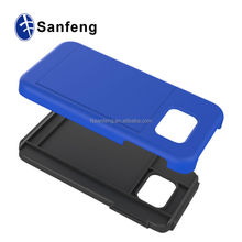 Functional Drop Resistant Radiation Proof Shatter Proof Card Holder Bracket Covers Cases For Samsung Galaxy S6 Edge
