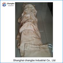 cement dust collector filter bag/glass fiber dust filter
