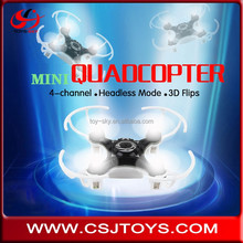 Hot sale 4CH 4 Axis Headless mode gintrude mini nano drone quadcopter helicopter toy with DIY Frame