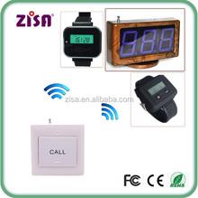 ZISA wireless hospital push call button , nurse call paging system