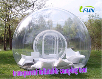 Cheap outdoor inflatalbe bubble room/clear inflatable bubble hotel/transparent inflatalbe bubble tent