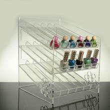 acrílico de esmalte de uñas opi organizador de cosméticos caso cajón