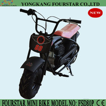 CE and EPA approved mini 80cc dirt bike to enjoy great fun for kids