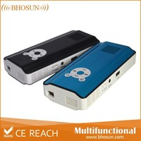 Tablet PC Micro Portable laptop projector wireless connection with android 4.2.2