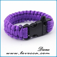 New Arravial !!! 2014 hot sale pretty Hot rescue rope safety bracelet