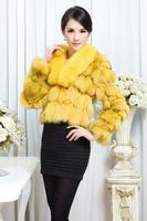 Женская одежда из меха Top Fur EMS TPC006