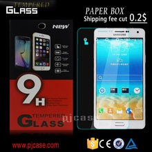 9H 2.5D antishock shatterproof whole transparency tempered glass screen protector for LG G Vista 2