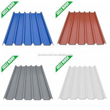 Free samples corrugated PVC roofing sheet for factory roof