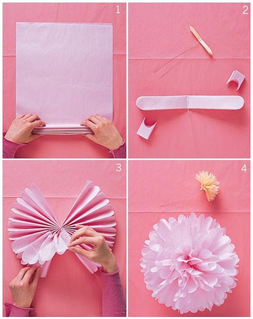 Best Wholesale Diy 14 35 Cm Decorative Flowers Multicolor Large Tissue Paper Pom Poms Flower