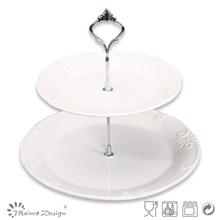 white cake decorating set for wedding or decoration