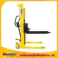 Manual hand stacker forklift for sale made in Foshan