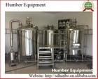 Produção de cerveja de fábrica de cerveja de fermentação equipamentos 10BBL por lote com certificados CE UL