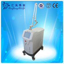 Color Tattoo Removal laser with two crystal bars q switched laser