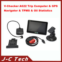 High quality for V-Checker A622 Trip Computer & GPS Navigator & TPMS & Oil Statistics