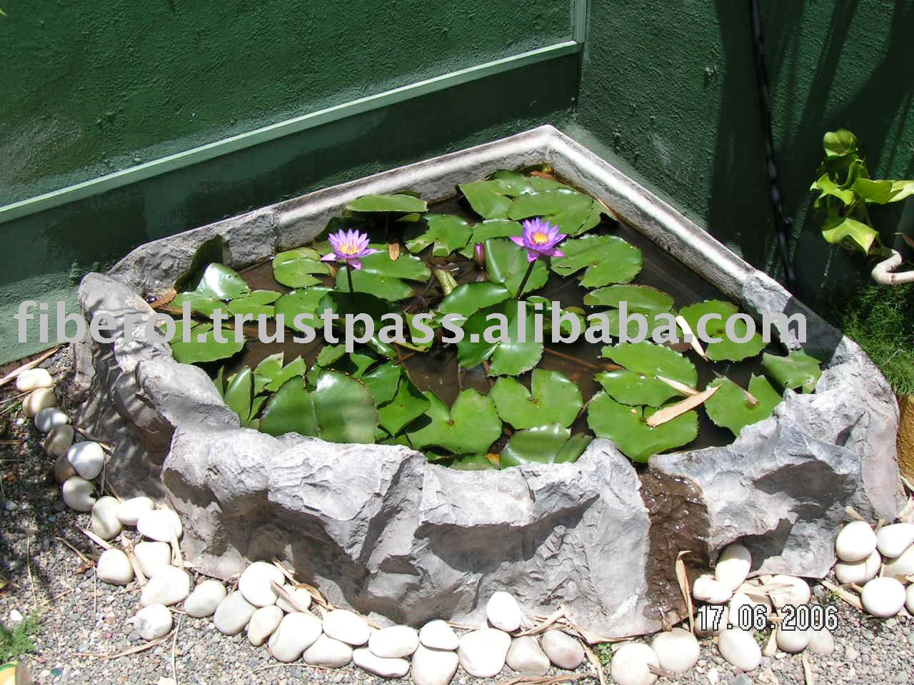 Poly Resin Garden Flower Pond Buy Koi Pond Garden Koi Pond Fiberglass Fish Pond Product On