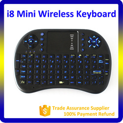 Cheap Wireless Air mouse with Keyboard Air Mouse i8 with Touchpadfor Android TV Box