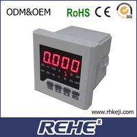 Free Sample Available Multifunction Digital Panel Digital Multimeter with RS-485 RH-D61