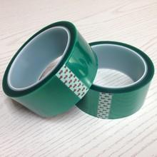 PET Green high temperature tape heat resistant tape,PET tape