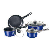 Durable 7pcs aluminum cookware