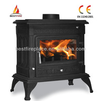 Cast Iron Multifuel Container Wood Burning Stove