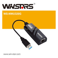 USB 3.0 Gigabit Ethernet Adapter, extension Gigabit networking, Plug-and-play installation
