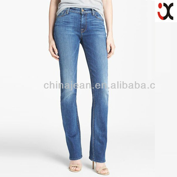 2015 Lady Jean New Model Jeans Pants Boot Cut Jeans Jxq260 - Buy Boot Cut JeansNew Model Jeans ...