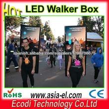 Nuevo!! Caliente!!! Led publicidad walker, cuadro de la publicidad llevado
