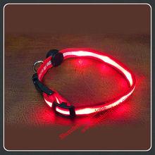Favorite Personalized Nylon LED Flashing Dog Safety Collar