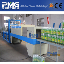 PMG-1200 Automatic high speed small bottle PE film heating shrink wrapping machine